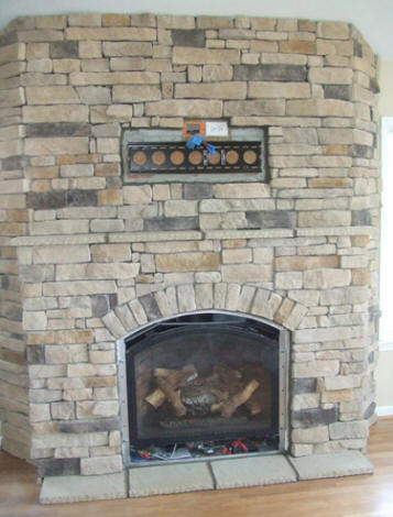 Stone Fireplaces - Strange Stone Inc.